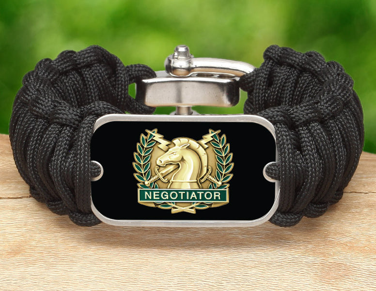 Wide Survival Bracelet™ - Police Hostage Negotiator