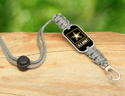 Neck ID Lanyard - Officially Licensed - U.S. Army™ - ACU/Foliage