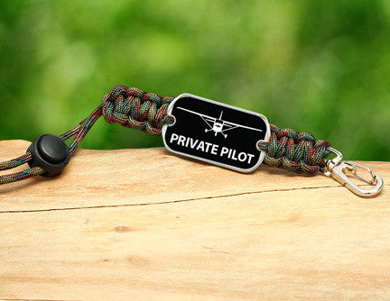 Neck ID Lanyard - Private Pilot Tag