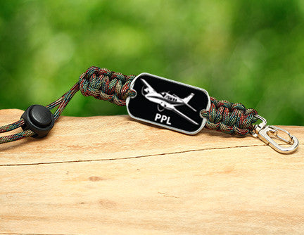 Neck ID Lanyard - Private Pilot License Tag