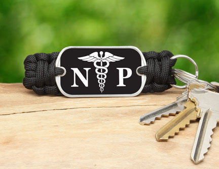 Key Fob - Nurse Practitioner Tag