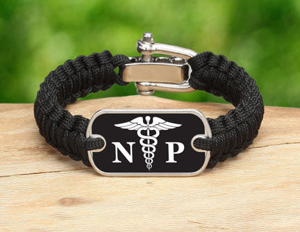 Light Duty Survival Bracelet™ - Nurse Practitioner Tag