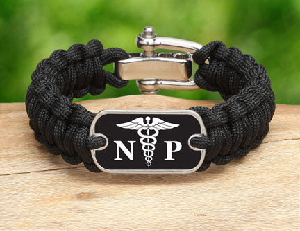 Regular Survival Bracelet™ - Nurse Practictioner Tag