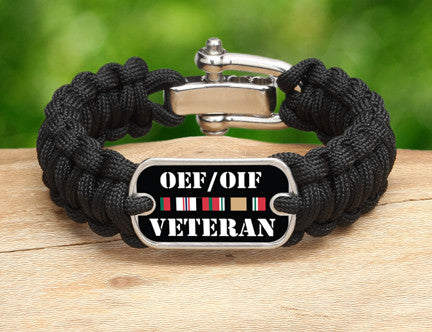 Regular Survival Bracelet™- OEF/OIF Veteran