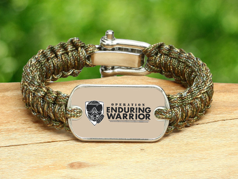 Light Duty Survival Bracelet™ - Operation Enduring Warrior
