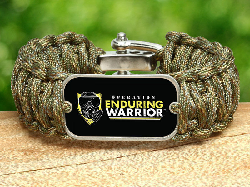 Wide Survival Bracelet™ - Operation Enduring Warrior B