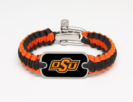 Light Duty Survival Bracelet™ - Officially Licensed - Oklahoma State Cowboys®