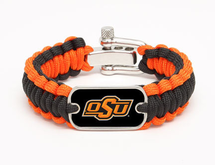 Regular Survival Bracelet™ - Officially Licensed - Oklahoma State Cowboys®