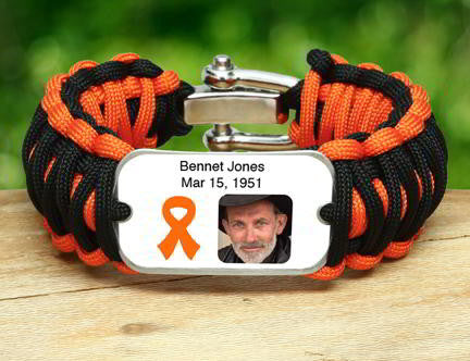 Wide Survival Bracelet™ - Picture Ribbons