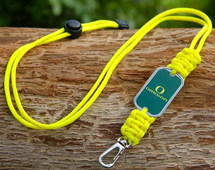 Neck ID Lanyard - Officially Licensed - Oregon Ducks® V2
