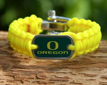 Regular Survival Bracelet - Officially Licensed - Oregon Ducks® V2