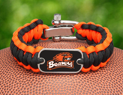 Regular Survival Bracelet™ - Officially Licensed - Oregon State Beavers™
