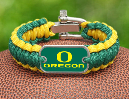 Regular Survival Bracelet - Officially Licensed - Oregon Ducks®