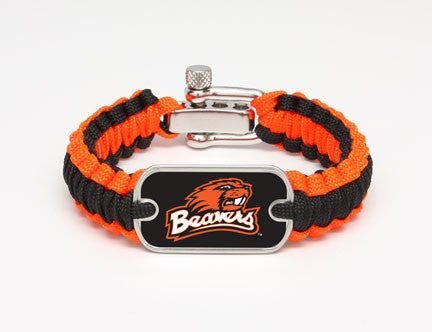 Light Duty Survival Bracelet™ - Officially Licensed - Oregon State Beavers™