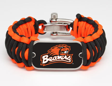 Wide Survival Bracelet™ - Officially Licensed - Oregon State Beavers™