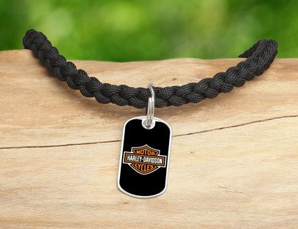 Necklace - Harley-Davidson® - Black