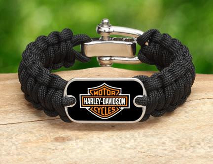 Regular Survival Bracelet™- Harley-Davidson® - Black