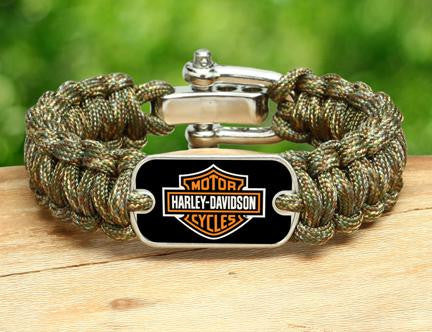 Regular Survival Bracelet™ - Harley-Davidson® - Matches Multicam®