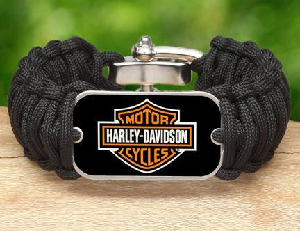 Wide Survival Bracelet™ - Harley-Davidson® - Black
