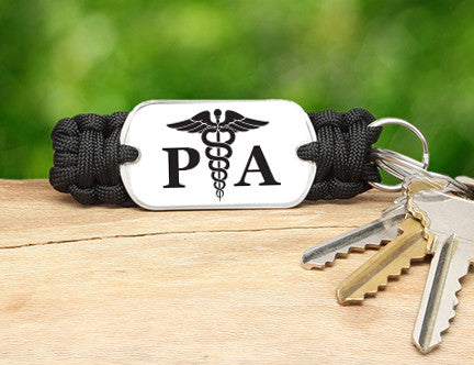 Key Fob - Physician Assistant Tag