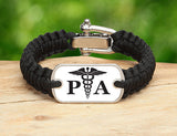 Light Duty Survival Bracelet™ - Physician Assistant Tag