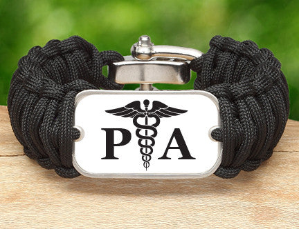 Wide Survival Bracelet™ - Physician Assistant Tag