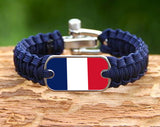Light Duty Survival Bracelet™ - Support Paris