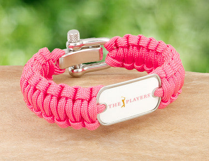 Regular Survival Bracelet™ - Officially Licensed - The Players® - Coral (White Tag)