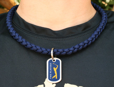 Necklace - The Players® (Navy Tag)