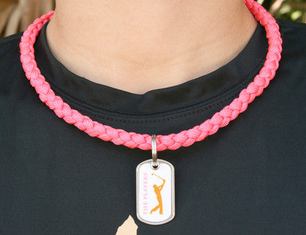 Necklace - The Players® - Coral (White Tag)