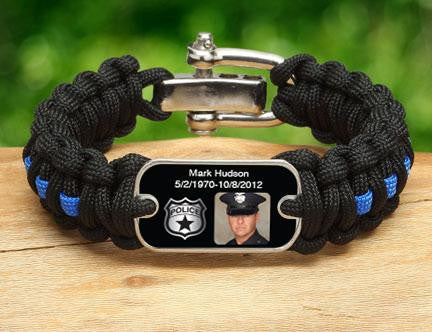 Regular Survival Bracelet™ - Police Hero Picture