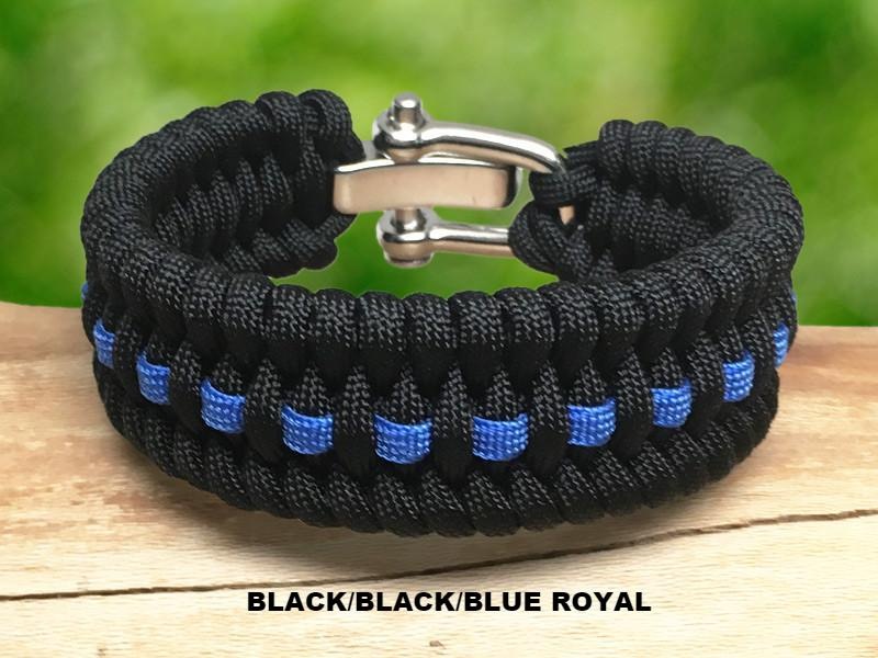 Wide Survival Bracelet ™- Fish Tail