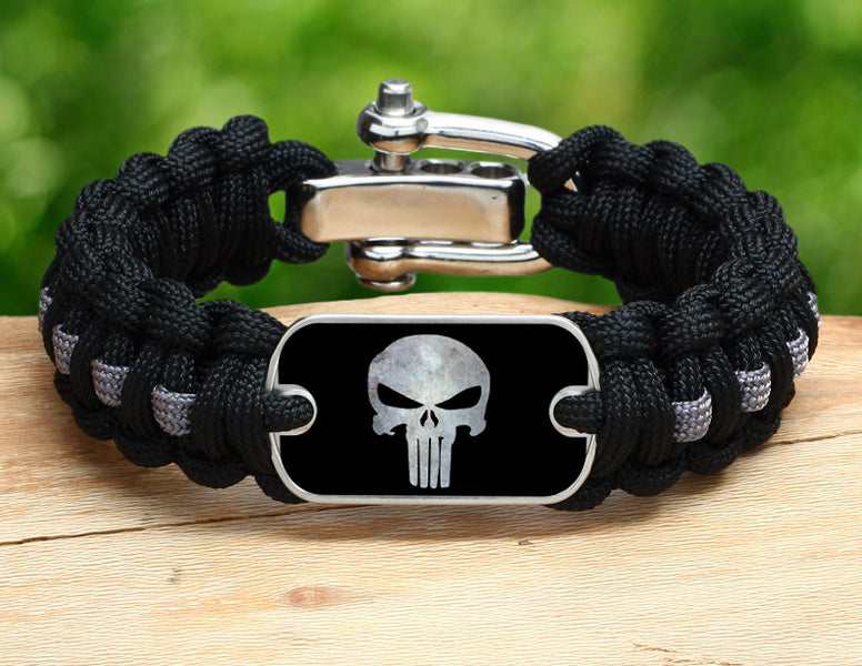 Regular Survival Bracelet™ - Punisher