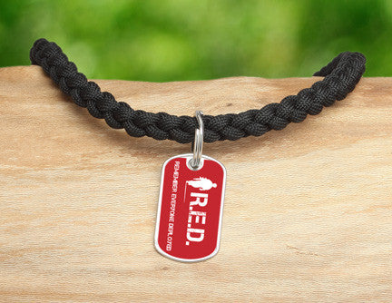Necklace - RED Friday Soldier Tag
