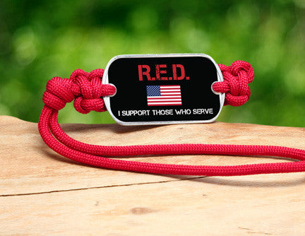 Gear Tag - RED Friday Flag Tag