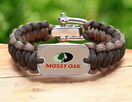 Regular Survival Bracelet™- Mossy Oak® -  OD Green and Desert Tan