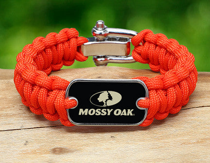 Regular Survival Bracelet™- Mossy Oak® - Neon Orange