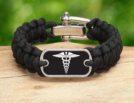 Regular Survival Bracelet™ - Doctors Tag