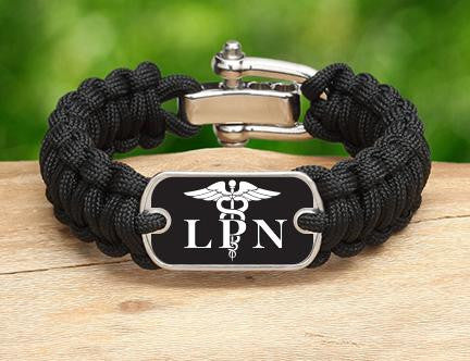Regular Survival Bracelet™ - Licensed Practical Nurses Tag