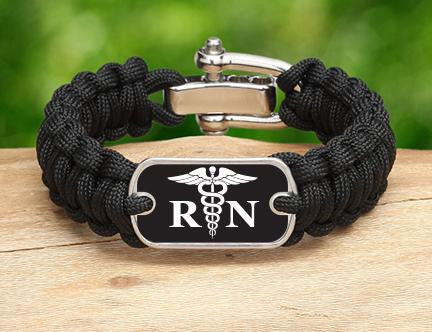 Regular Survival Bracelet™ - Registered Nurses Tag