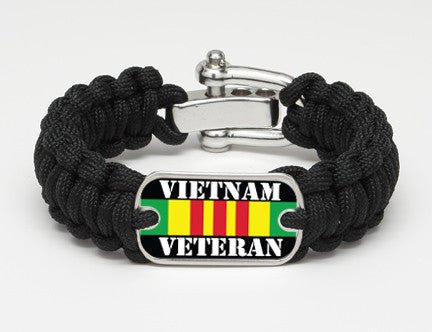 Regular Survival Bracelet™- Vietnam Veteran