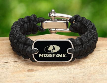 Regular Survival Bracelet™- Mossy Oak® - Black