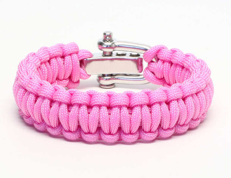 Regular Survival Bracelet™ - Rose Pink With Donna