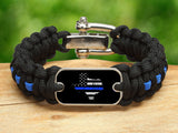 Regular Survival Bracelet™ - Back the Blue - Texas