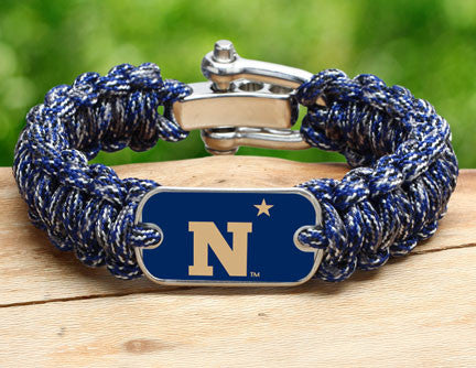 Regular Survival Bracelet™ - Officially Licensed - U.S. Naval Academy™ - V2