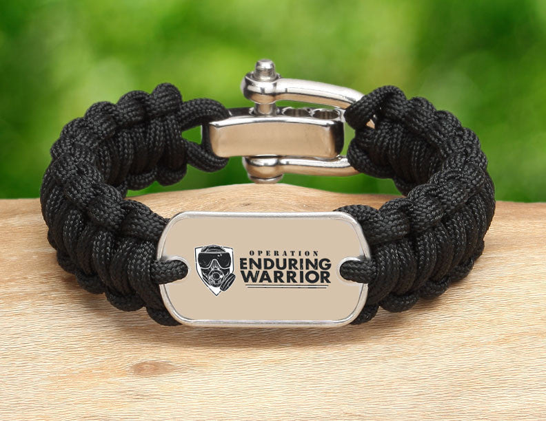Regular Survival Bracelet™ - Operation Enduring Warrior
