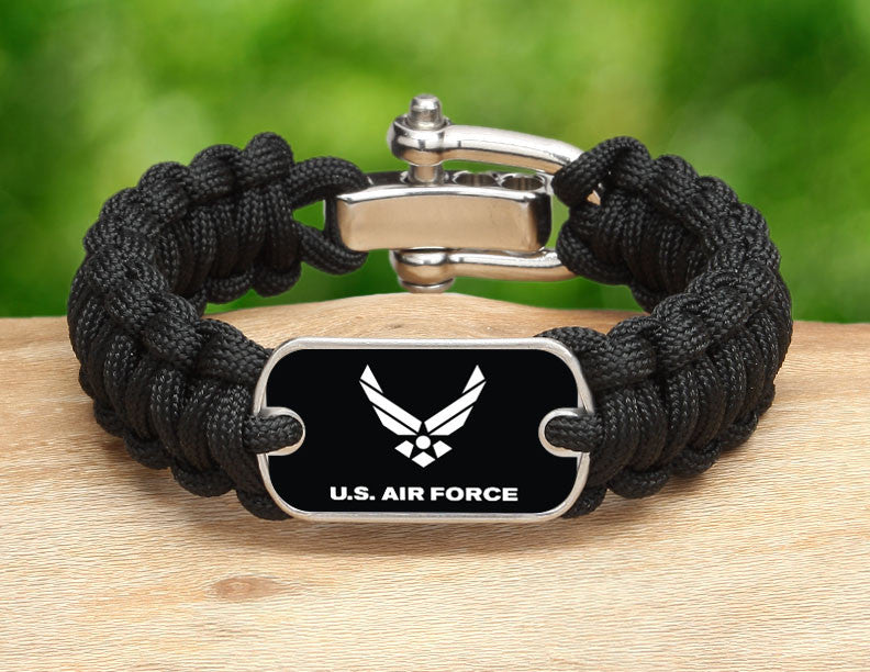 Regular Survival Bracelet™ - Officially Licensed - U.S. Air Force V2
