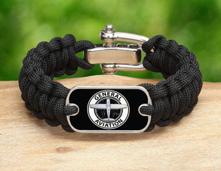 Regular Survival Bracelet™ - General Aviation Tag