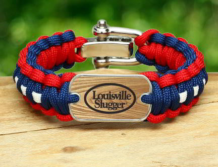 Regular Survival Bracelet -  Louisville Slugger® - R-Patriot