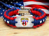 Regular Survival Bracelet™ - Bikers For Trump - R-Patriot